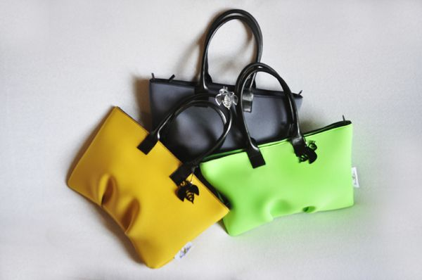 SUSI in Dark Yellow, Grey and Green fluo