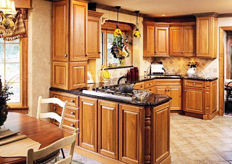Bi Level Kitchen Makeovers Pictures Budget Kitchen