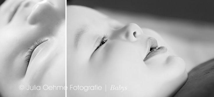 lachendes Baby 6 Monate bei Fotoshooting Leipzig