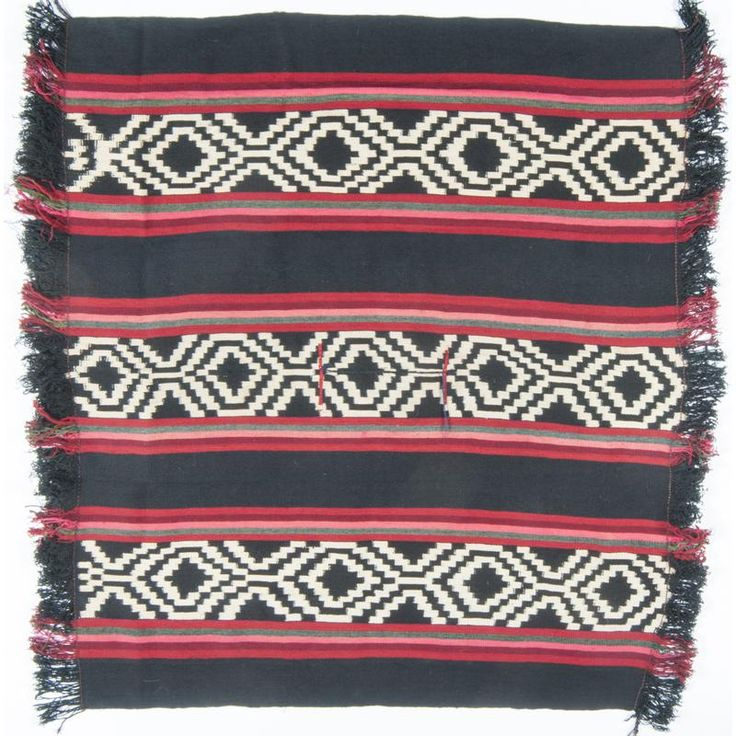 Mapuche Wool Poncho / Weaving - Current price: $200