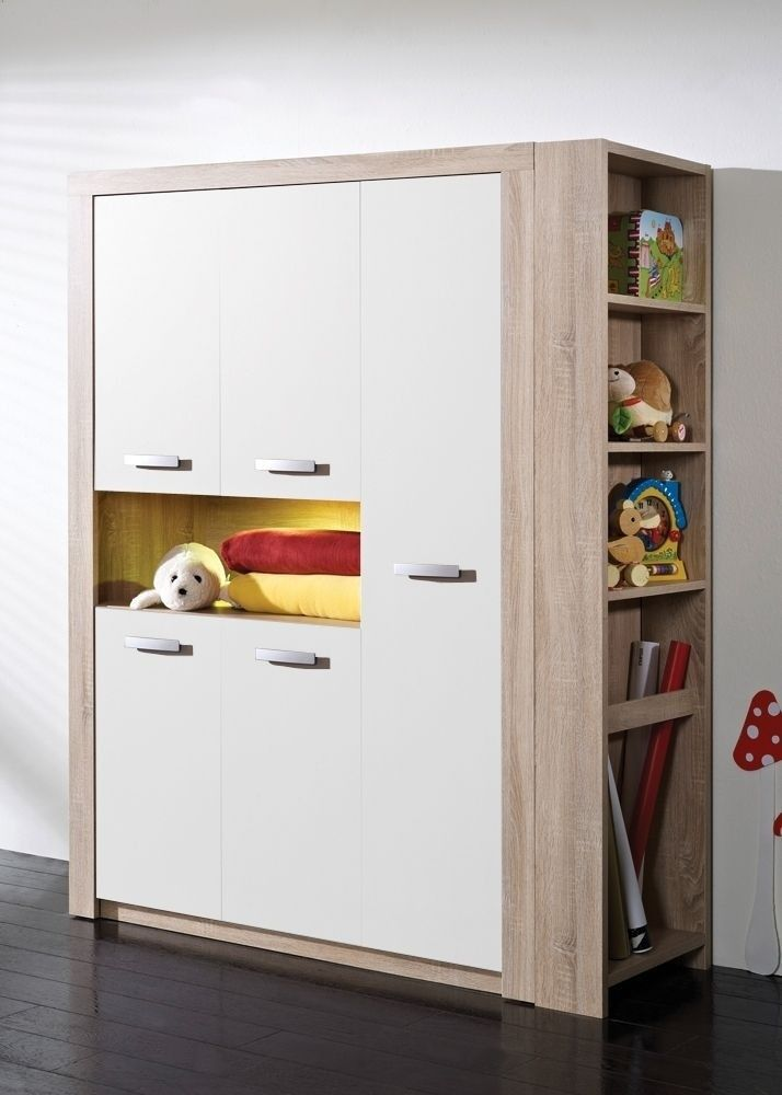 Cool Kleiderschrank Moritz Eiche S gerau Wei Buy now at https