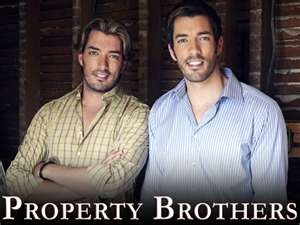 Property Brothers. A tall gal's dream come true!!!!!