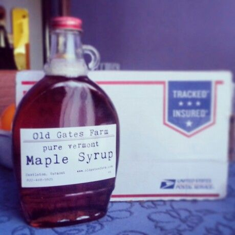 Maple Syrup!