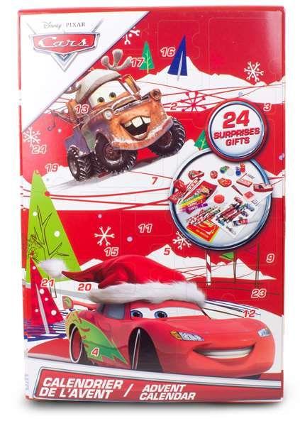 Disney Pixar Cars, Adventskalender med skoletilbehør