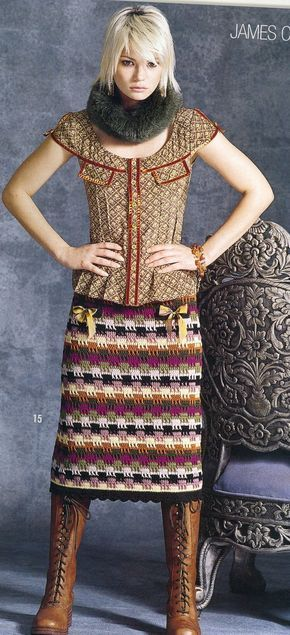 Fabulous crochet skirt
