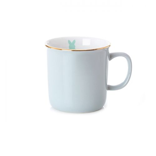 Tasse rustique gris nimbus