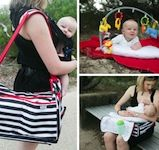 Take-Off Tote: 3-in-1 Baby Travel Bag on http://www.alistmomtravel.com