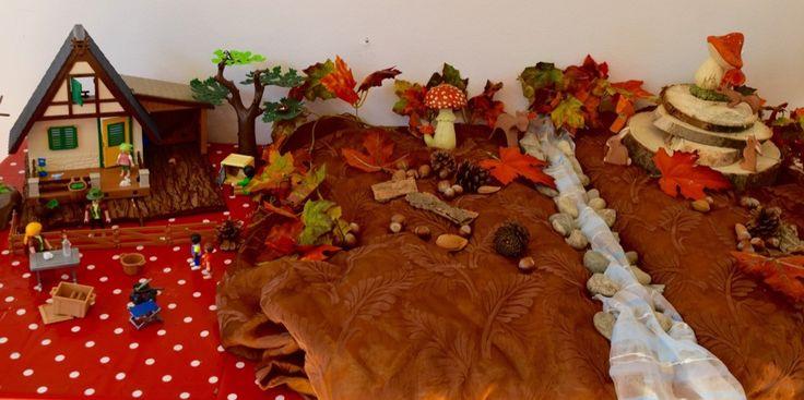 Speeltafel 'herfst' | Klas van juf Linda