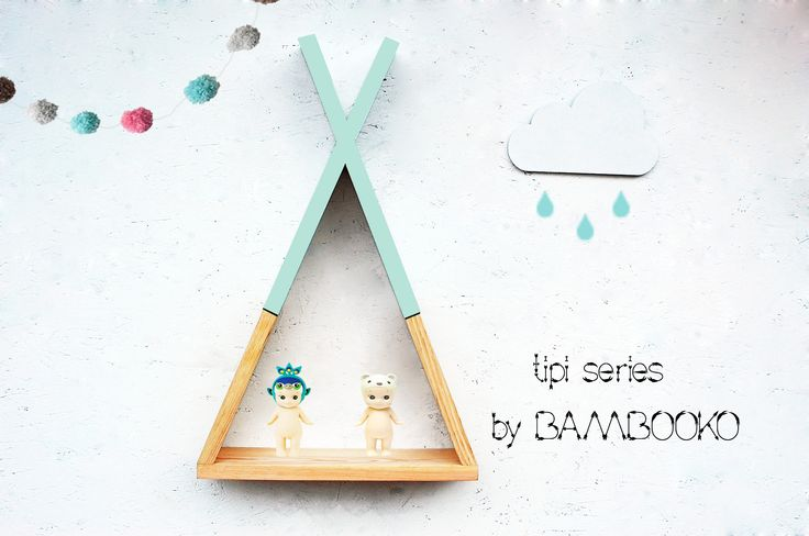Półeczka tipi | Tere fere kuku… Tipi shelf teepee kids room  wwwbambooko.eu