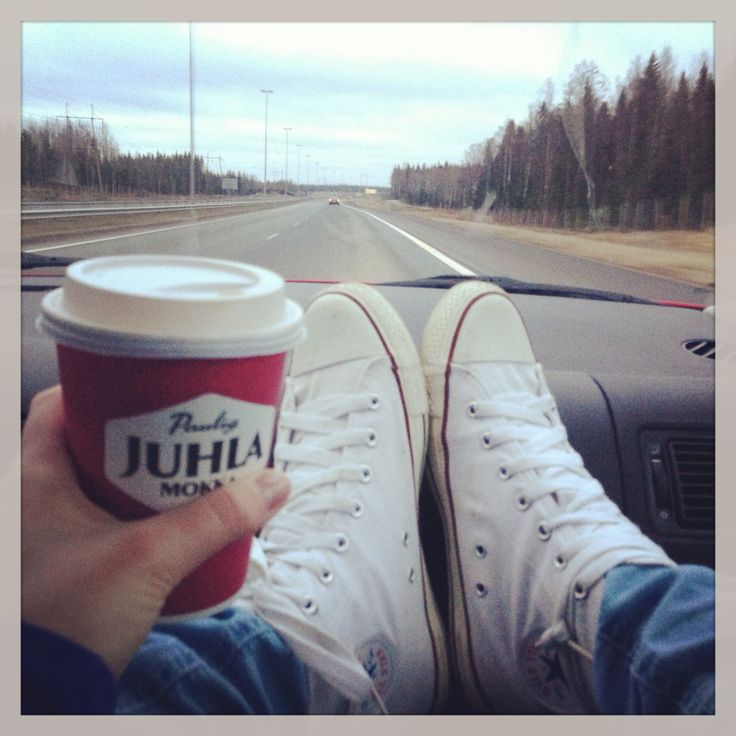 Converse and paulig coffee <3