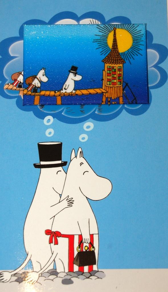 Moomin card - MOOMINMAMMA