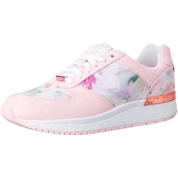 Ted Baker Women's Phressya 2 Fashion Sneaker ($140) ❤ liked on Polyvore featuring shoes, sneakers, ted baker sneakers, lace up shoes, ted baker shoes, laced up shoes and lacing sneakers