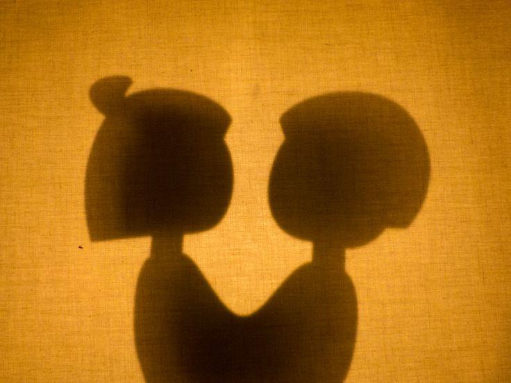 Jugando con Pachamama #titeres #sombras #shadow #puppet