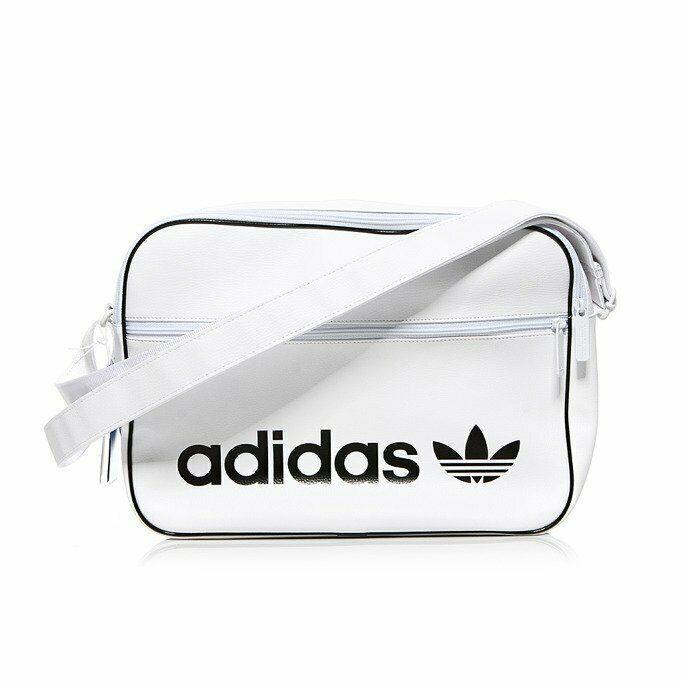 Adidas Originals Airliner Vintage Cross Bag White Trefoil School Bag Nwt Dh1003 Adidas Messengershoulderbag School Bags White Bag Adidas Bags