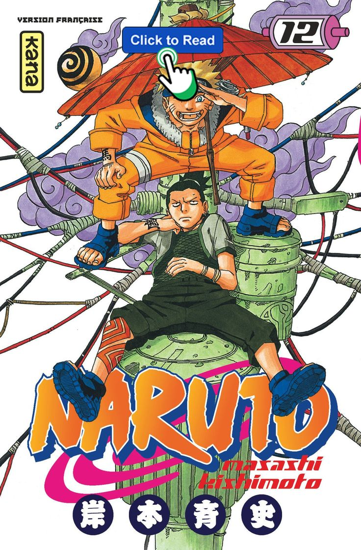 *Livres* Naruto, tome 12 Téléchargement gratuit du livre in 2021   Manga covers, Naruto ...
