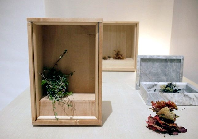 "Tokyo Design Week 2012: ""Shinobu"", a contemporary design of butsudan (altar to commemorate the deceased)."