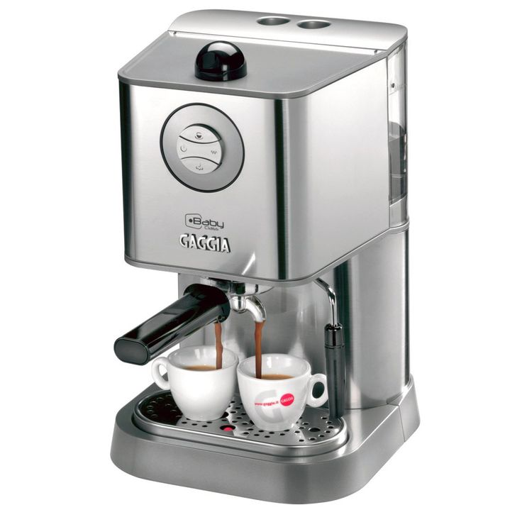 Gaggia Baby Class Espresso Machine - Stainless Steel