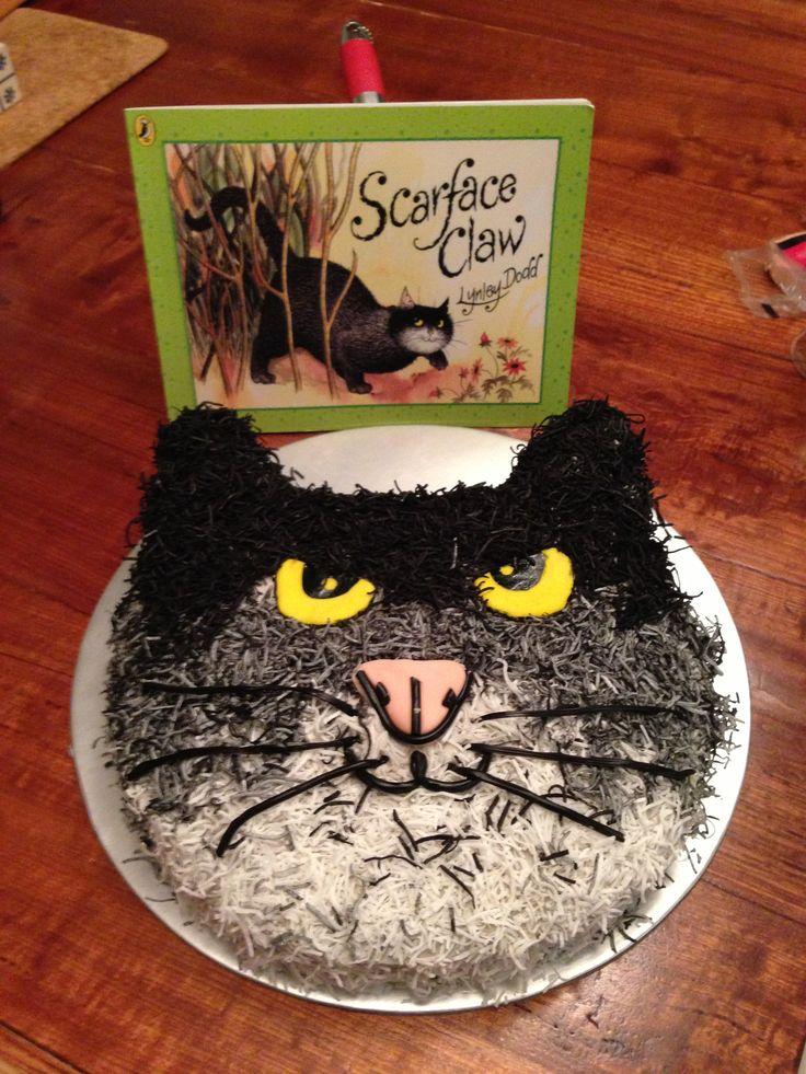 Joshua's Scarface Claw Birthday Cake