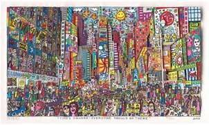 James Rizzi : Times Square - Everyone Should Go There