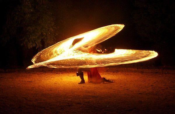 30+ Captivating Fire Dancing Photos