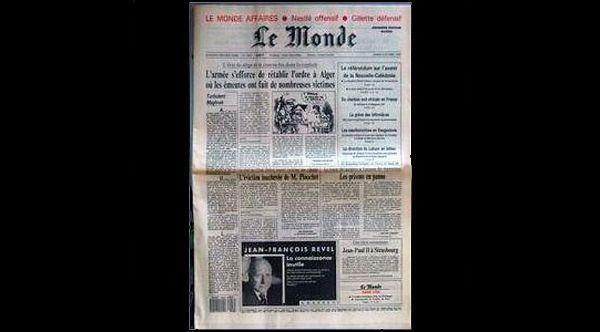 Así cubrieron los diarios internacionales el triunfo del NO en 1988 | Nacional | LA TERCERA