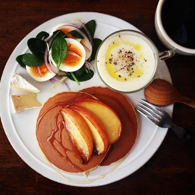 .@keiyamazaki   Todays breakfast. Cauliflower Soup. ...   Webstagram
