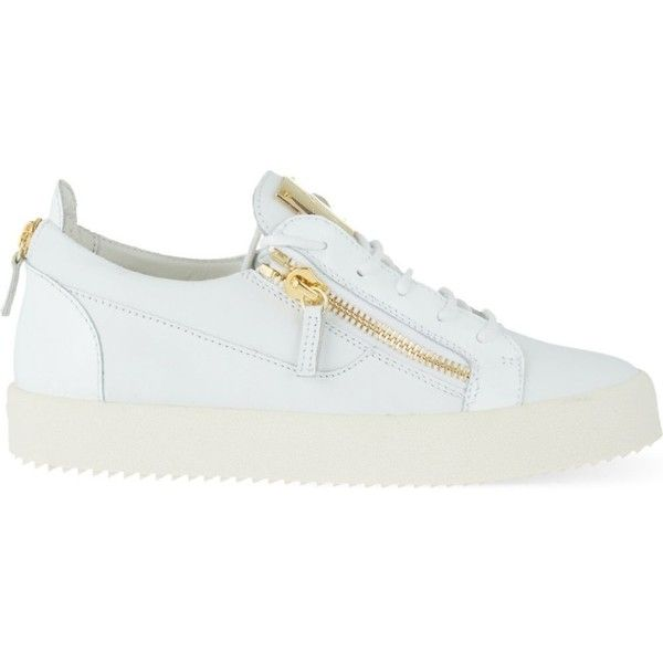 Giuseppe Zanotti Patent mixed leather trainers (1.670 BRL) ❤ liked on Polyvore featuring men's fashion, men's shoes, men's sneakers, white, mens white patent leather shoes, giuseppe zanotti mens sneakers, mens leather shoes, mens patent shoes and giuseppe zanotti mens shoes