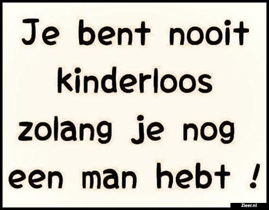 Je bent nooit kinderloos
