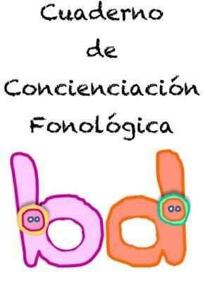 Cuaderno de Concienciación Fonológica ~ Educación Preescolar, la revista