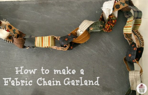 How to make a Fabric Chain Garland