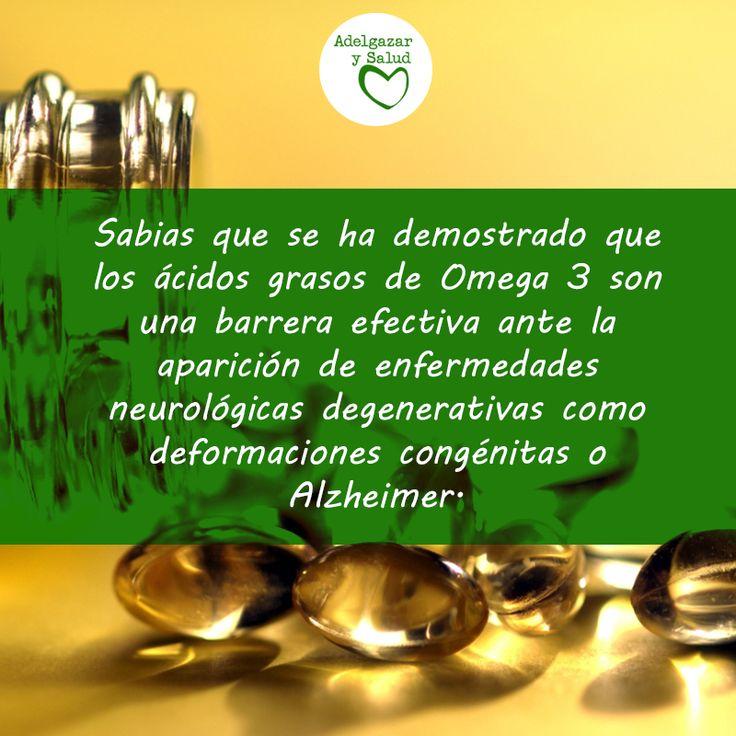 Omega 3, un ácido esencial en tu alimentación ¡Sigue leyendo! #Tips #Salud #Vida #Sana