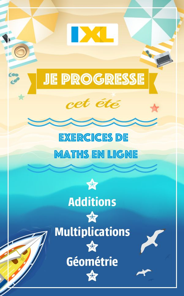 Get ahead this summer with IXL!