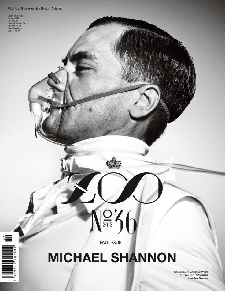 ZOO #36 Otoño 2012-2013: Michael Shannon by Bryan Adams.