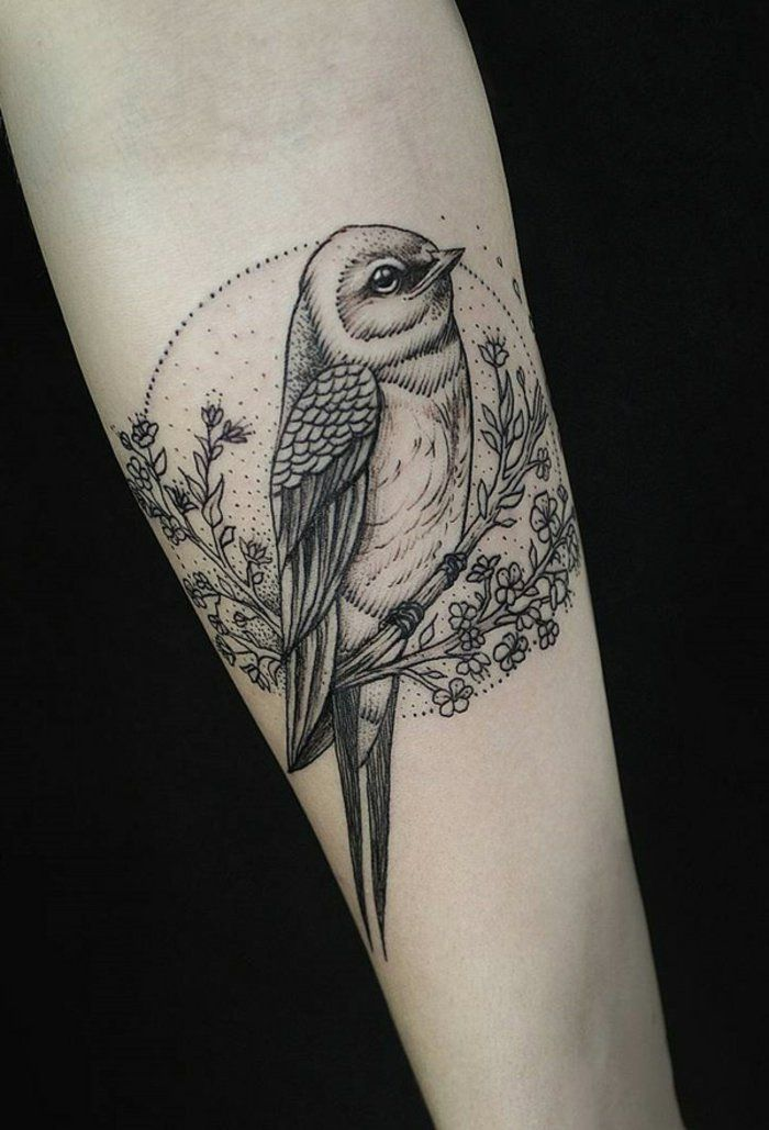 17 best images about tattoo on pinterest miniature - Tatouage oiseau origami ...