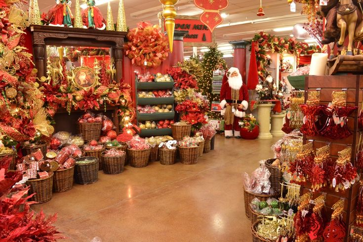 Decorator's Warehouse claims to be the biggest Christmas store in Texas, and I'm inclined to believe them!