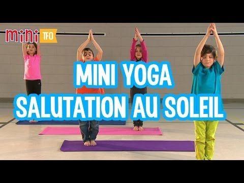 Du Mini Yoga pour les enfants - La Salutation au Soleil