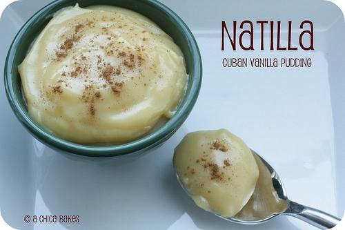 Natilla cake filling