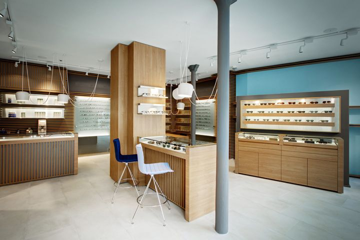 Opticians Store Design   Retail Design   Shop Design   Thomas Opticien Optical shop by Pisi Design Studio Paris