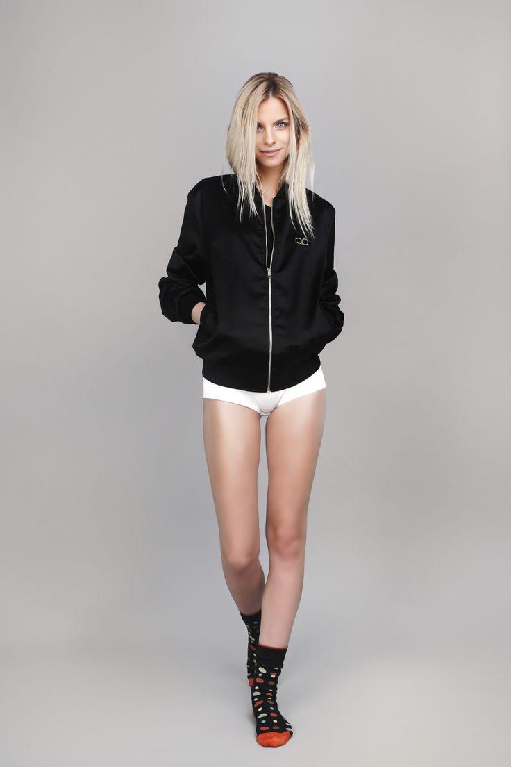 #bomberjacket #silkbomberjacket #oanapop #fashion #fashioncatalog  Photo: Anca Cheregi Model: Cristina Oltean Mua: Ioana Malai