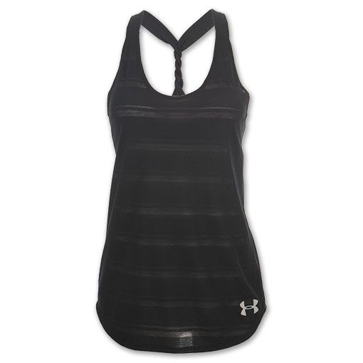 Under Armour workout shirt - have this one and love it.