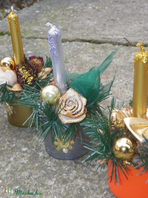Karácsonyi asztaldíszek (galamb70) - Meska.hu
