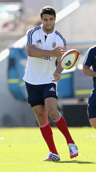 Conor Murray passes the ball during the British and Irish Lions captains run at NIB Stadium on June 4, 2013 in Perth, Western Australia.