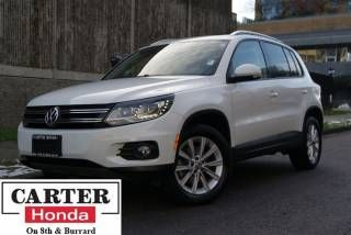 2014 Volkswagen Tiguan Comfortline + 4 Motion + NEW YEAR CLEARANCE! SUV