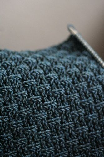 Knitting Increases At End Of Row : I love this knit stitch cast on multiples of all
