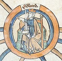 """Edward the Elder 874-924 was an English king. He became king in 899 upon the death of his father, Alfred the Great. His court was at Winchester, previously the capital of Wessex. He captured the eastern Midlands and East Anglia from the Danes in 917 and became ruler of Mercia in 918 upon the death of Æthelflæd, his sister.  All but two of his charters give his title as """"Anglorum Saxonum rex"""" or """"king of the Anglo-Saxons."""