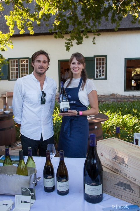 Dane Raath and Jessica Sauerwein of Boucahrd Finlayson Wine Estate #SouthAfrica