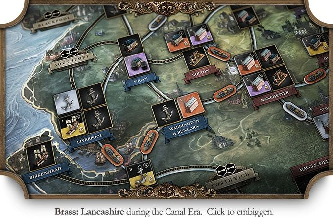 The Famous Industrial Revolution Strategy Boardgame By Martin