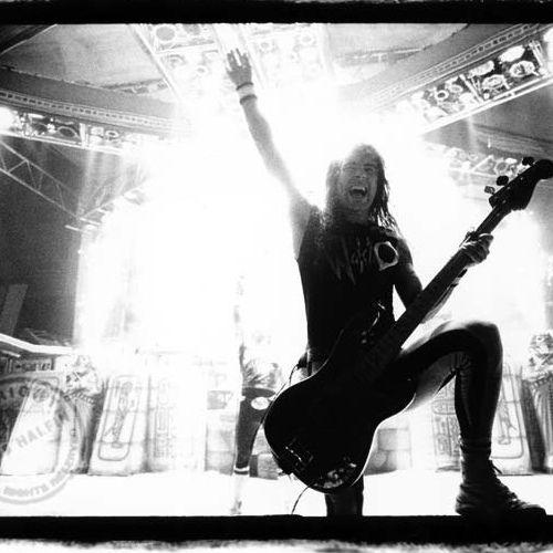 Iron Maiden...Steve just loves Iron Maiden.