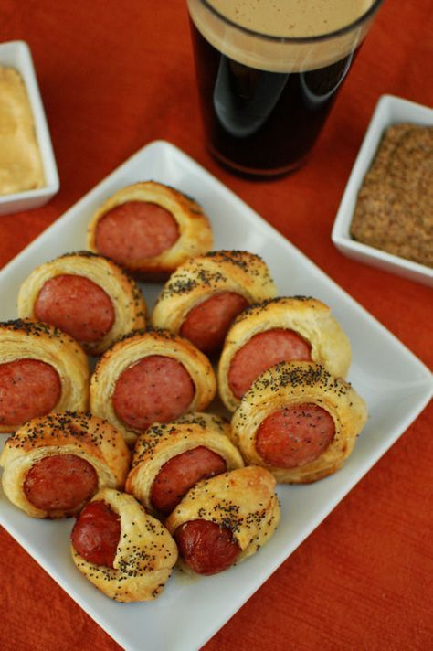 Grown Up Pigs In A Blanket Make Ahead And Freeze Food