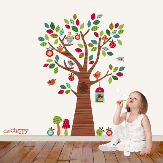 81 best images about murales infantiles pintados y con - Murales infantiles ...